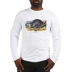Audubon Badger Animal Long Sleeve T-Shirt