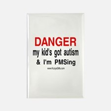 AUTISM/PMS 2 Rectangle Magnet