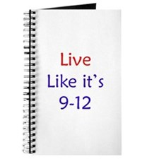 """Live like it's 9-12"" Journal"
