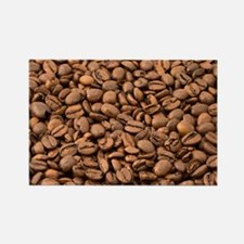 Coffee beans Rectangle Magnet