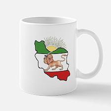 Iran Flag-Map & Sun Mug