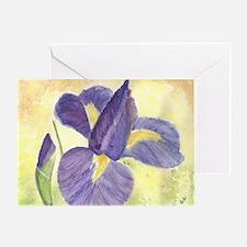 Maria's Dutch Iris Greeting Card
