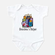 Grandma's Helper (Art) Infant Bodysuit