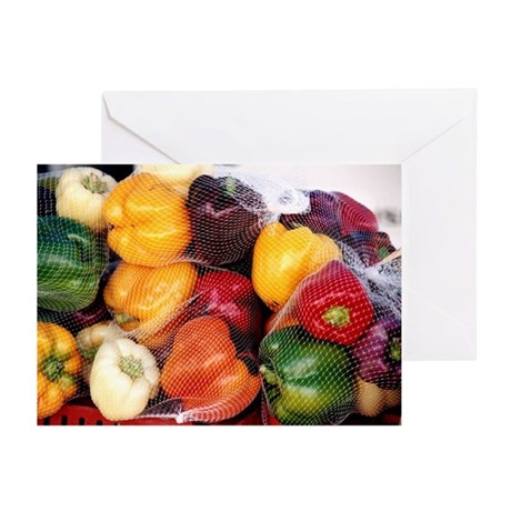 Peppers - Greeting Cards (Pk of 10)