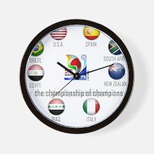 Confederations Cup '09 Wall Clock