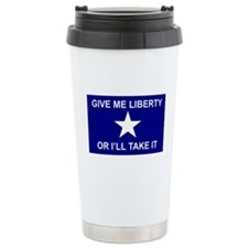Bonnie Blue Patrick Henry Travel Mug