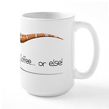 Dinosaur and coffee lovers mug