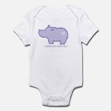 Celebrate Rhino Infant Bodysuit