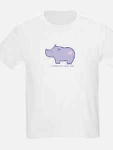 Celebrate Rhino T-Shirt