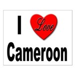 I Love Cameroon Small Poster