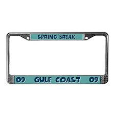 Spring Break Gulf Coast 2009 License Plate Frame