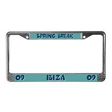 Spring Break Ibiza 2009 License Plate Frame