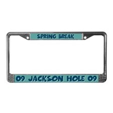 Spring Break Jackson Hole 2009 License Plate Frame