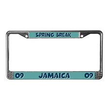 Spring Break Jamaica 2009 License Plate Frame