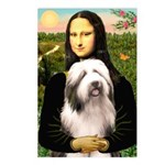 Mona / Bearded Collie #1 Postcards (Package of 8)