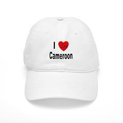 I Love Cameroon Baseball Cap