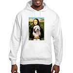 Mona / Bearded Collie #1 Hooded Sweatshirt