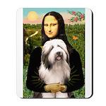 Mona / Bearded Collie #1 Mousepad