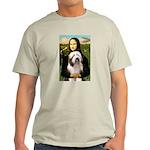 Mona / Bearded Collie #1 Light T-Shirt
