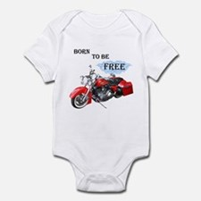 Born To Be Free Infant Bodysuit