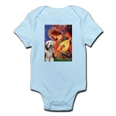 Mandolin / Beardie #1 Infant Bodysuit