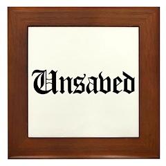 Unsaved Framed Tile