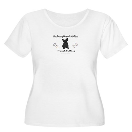 french bulldog gifts Women's Plus Size Scoop Neck
