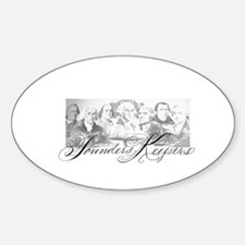 Founders Keepers II Oval Decal