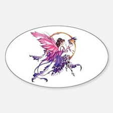 Tales of the Dragon Fairy Oval Decal