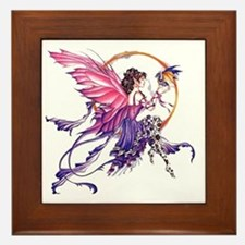 Tales of the Dragon Fairy Framed Tile