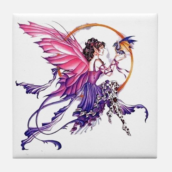 Tales of the Dragon Fairy Tile Coaster