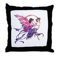 Tales of the Dragon Fairy Throw Pillow