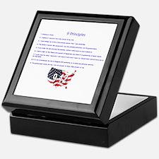 9 Principles 12 Values Keepsake Box