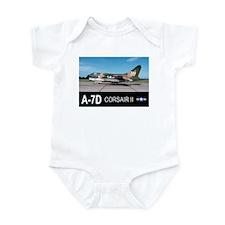 A-7 CORSAIR II Infant Bodysuit