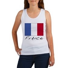 France (Flag, International) Women's Tank Top