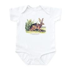 Audubon Jack Rabbit Animal Infant Bodysuit