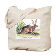 Audubon Jack Rabbit Animal Tote Bag