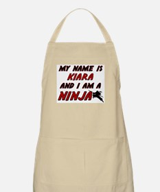 my name is kiara and i am a ninja BBQ Apron