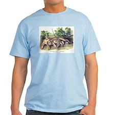 Audubon Cougar Cat Animal T-Shirt