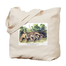 Audubon Cougar Cat Animal Tote Bag
