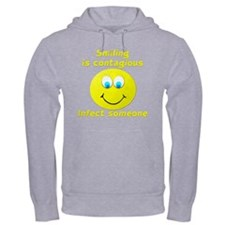 Smiling is contagious Hoodie