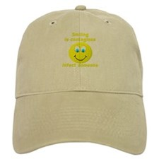 Smiling is contagious Baseball Cap