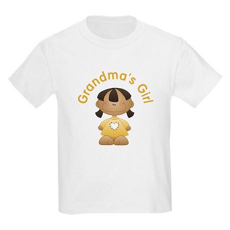 Grandma's Girl Ethnic Kids Light T-Shirt