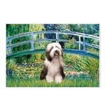 Bridge / Beardie #1 Postcards (Package of 8)