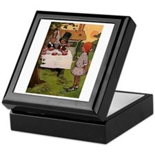 The Mad Tea Party Keepsake Box