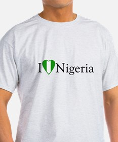I Love Nigeria T-Shirt