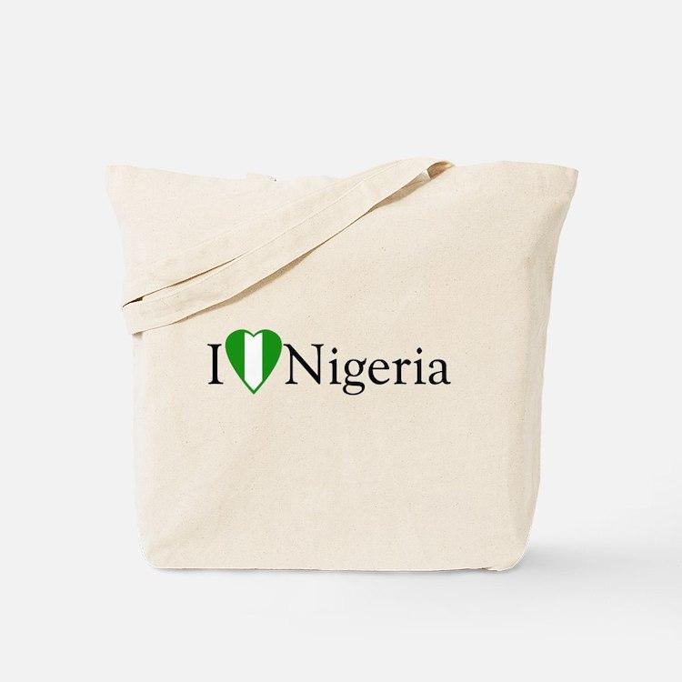 I Love Nigeria Tote Bag
