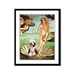 Venus / Beardie #1 Framed Panel Print
