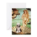 Venus / Beardie #1 Greeting Card