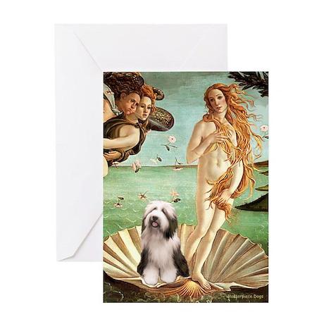 Venus / Beardie #1 Greeting Card